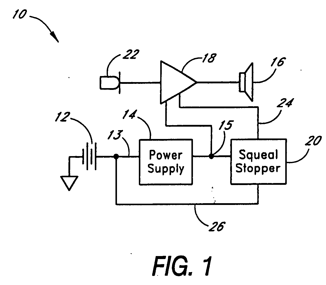 EP1282340A3 - System and method for reducing hearing aid