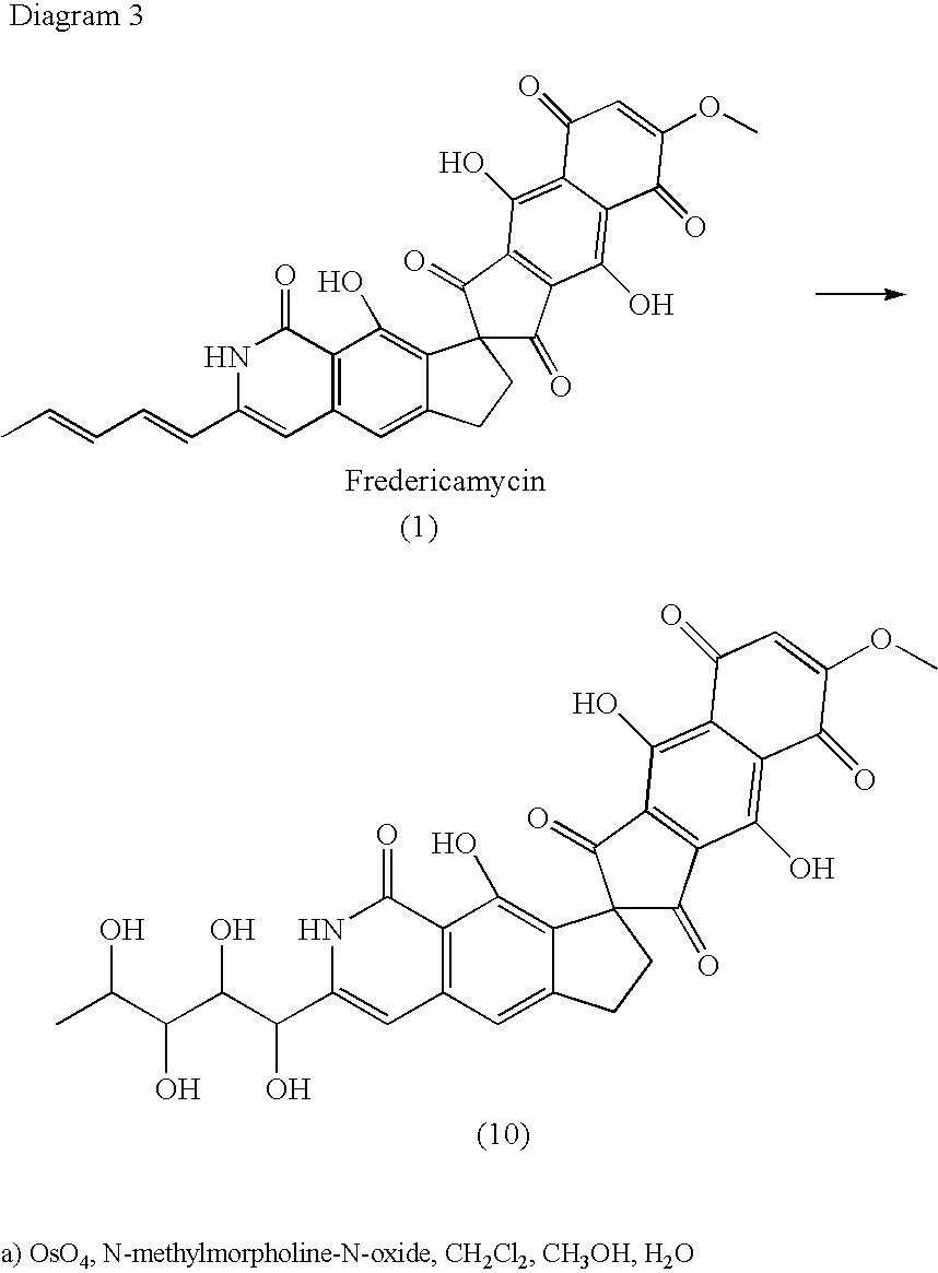 us20050153997a1 - fredericamycin derivatives