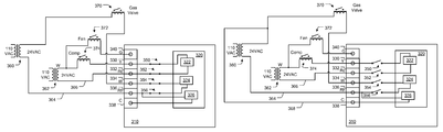 us9494332b2 thermostat wiring connector google patents