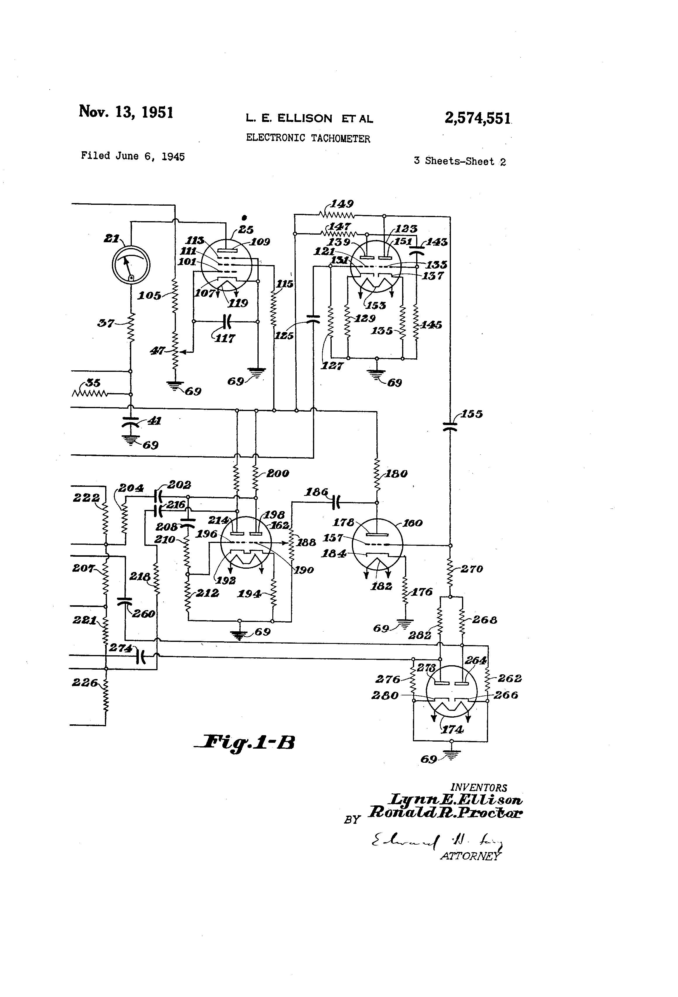 Circuitdiagram Measuringandtestcircuit Analogtachometercircuit