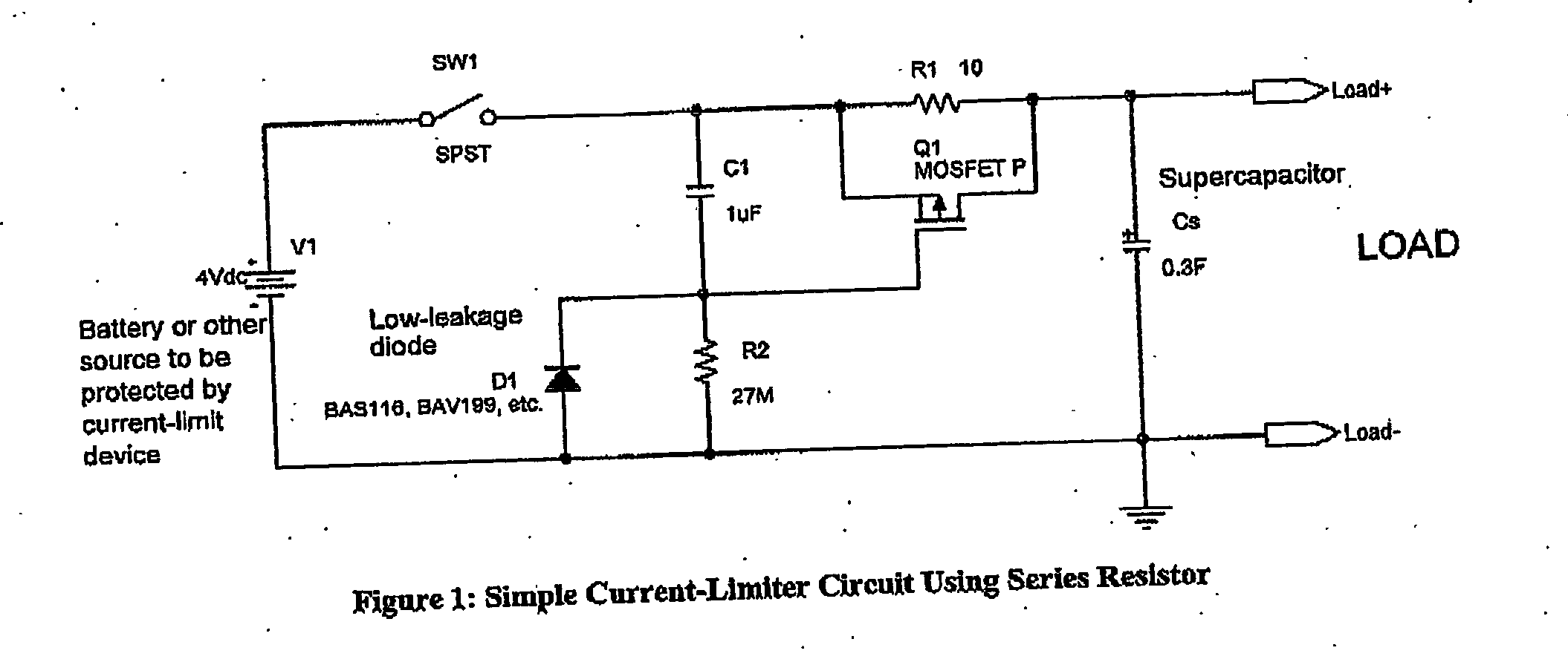 Us20060264189a1 Power Supply Google Patents First I Connected 1 Supercap And The Led Resistor Into Circuit Figure 20061123 P00001