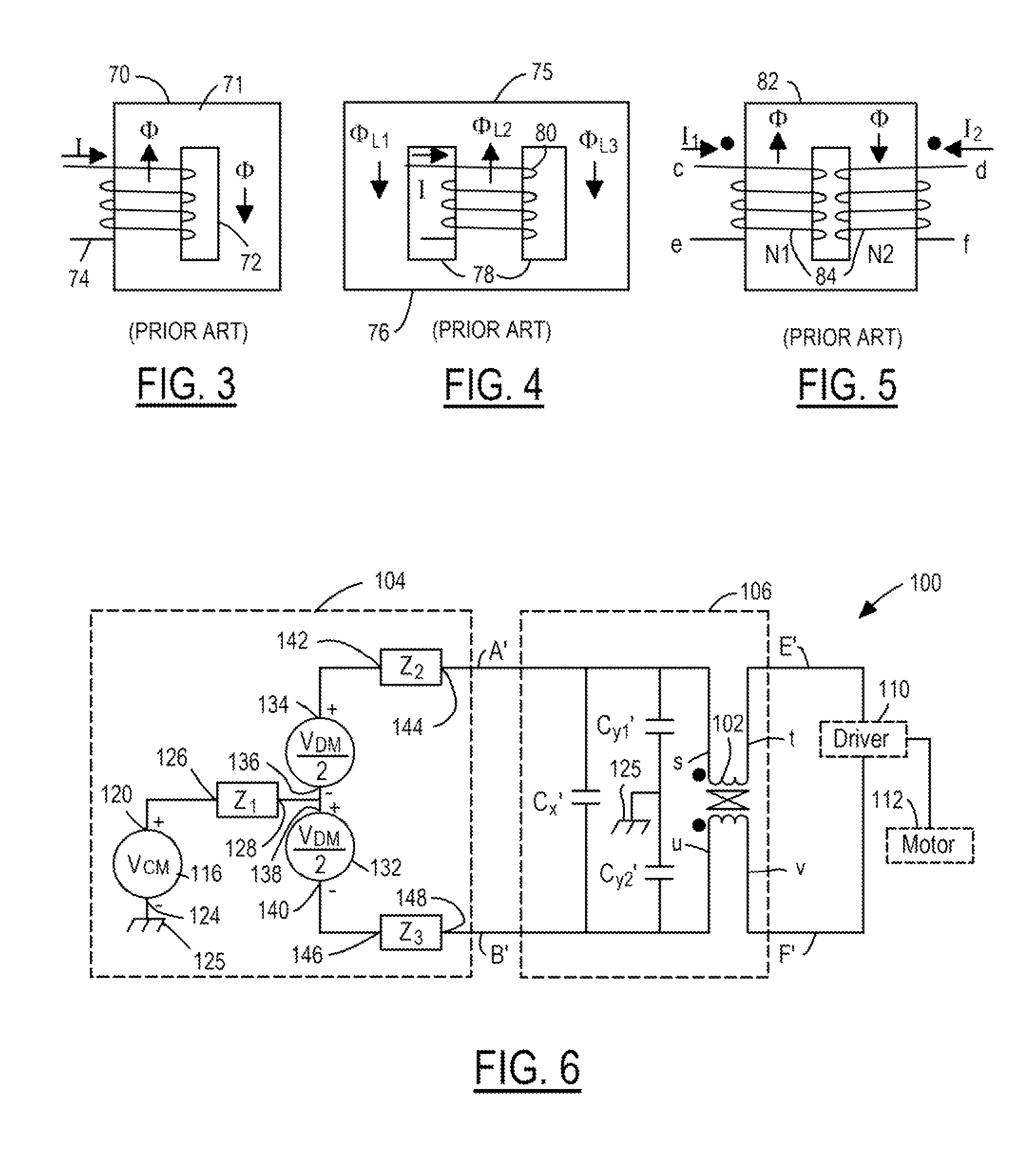 US8115582B2 - Inductor topologies with substantial common ... on