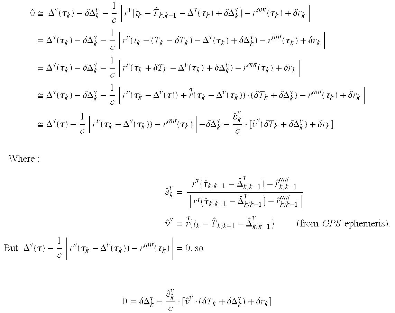 US20030132878A1 - Extended kalman filter for autonomous