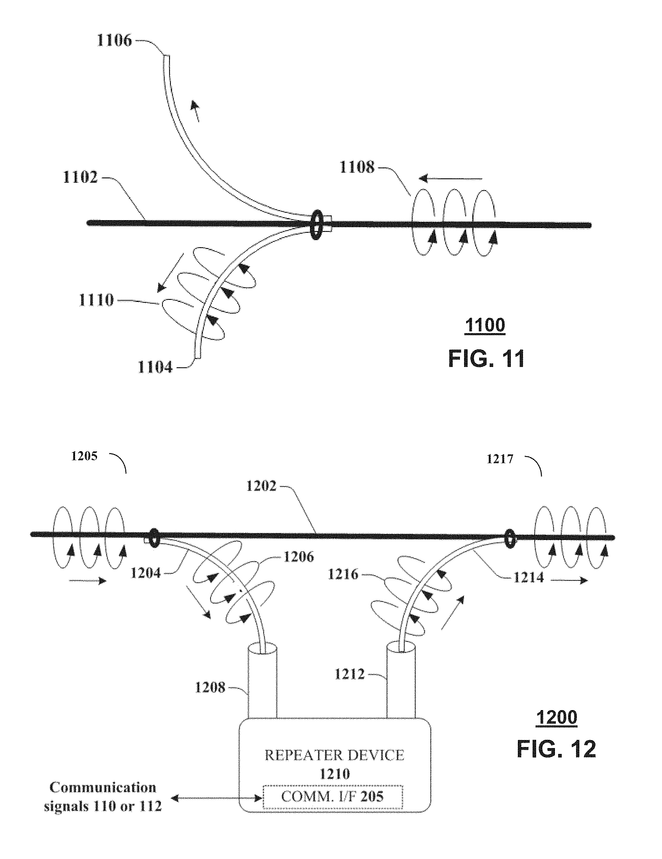 US9749053B2 - Node device, repeater and methods for use