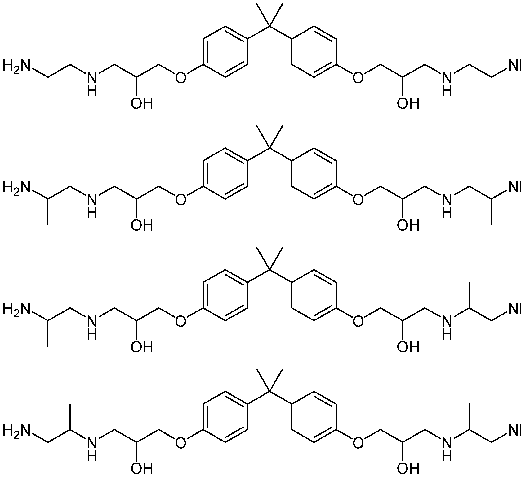 WO2017025448A1 - Amine for low-emission epoxy resin compositions