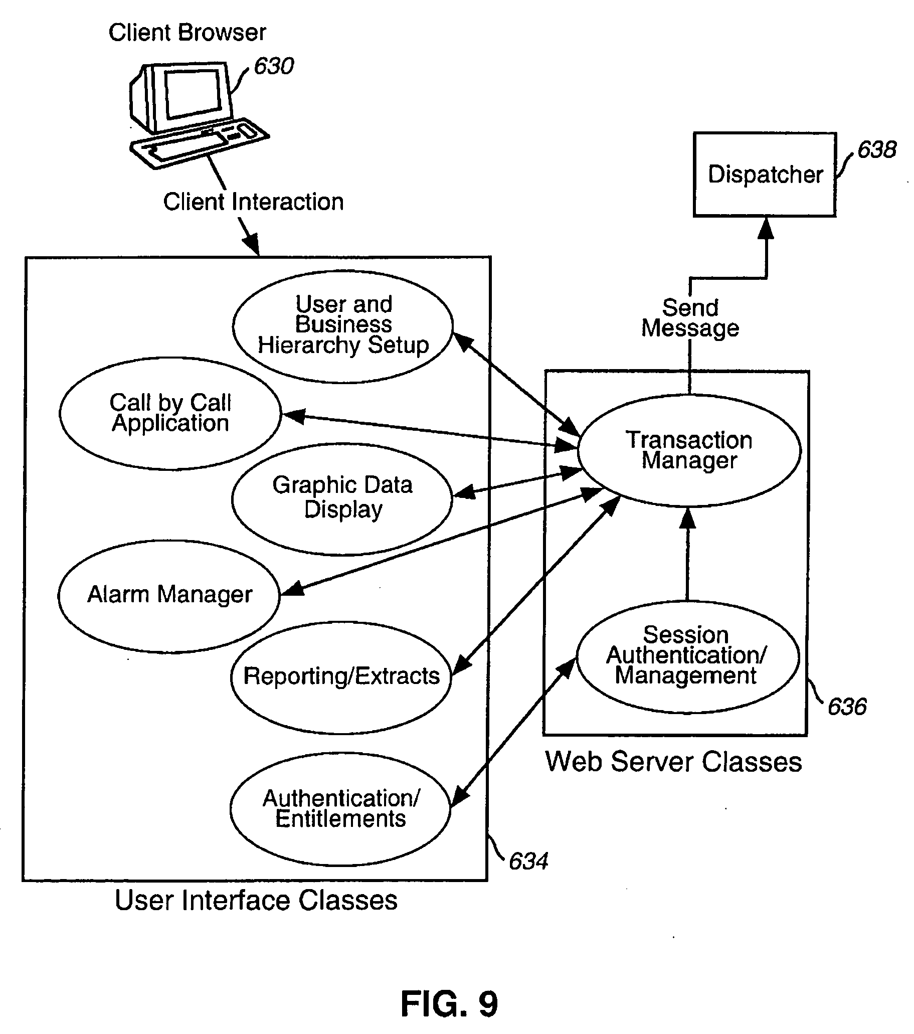 US20060098583A1 - Integrated customer web station for web based call