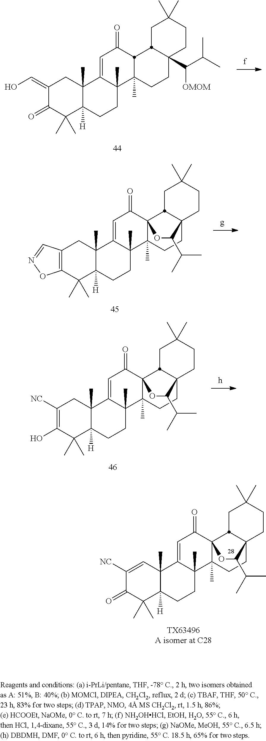 us9278912b2 c13 hydroxy derivatives of oleanolic acid and methods Asco Model 940 figure us09278912 20160308 c00043
