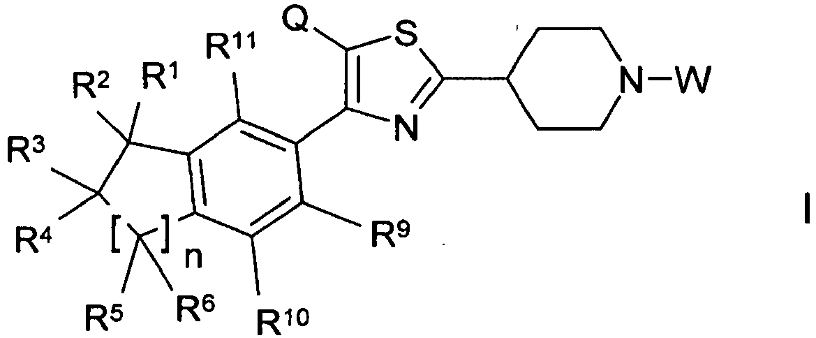 EP2313403B1 - Thiazolyl piperdine derivatives - Google Patents