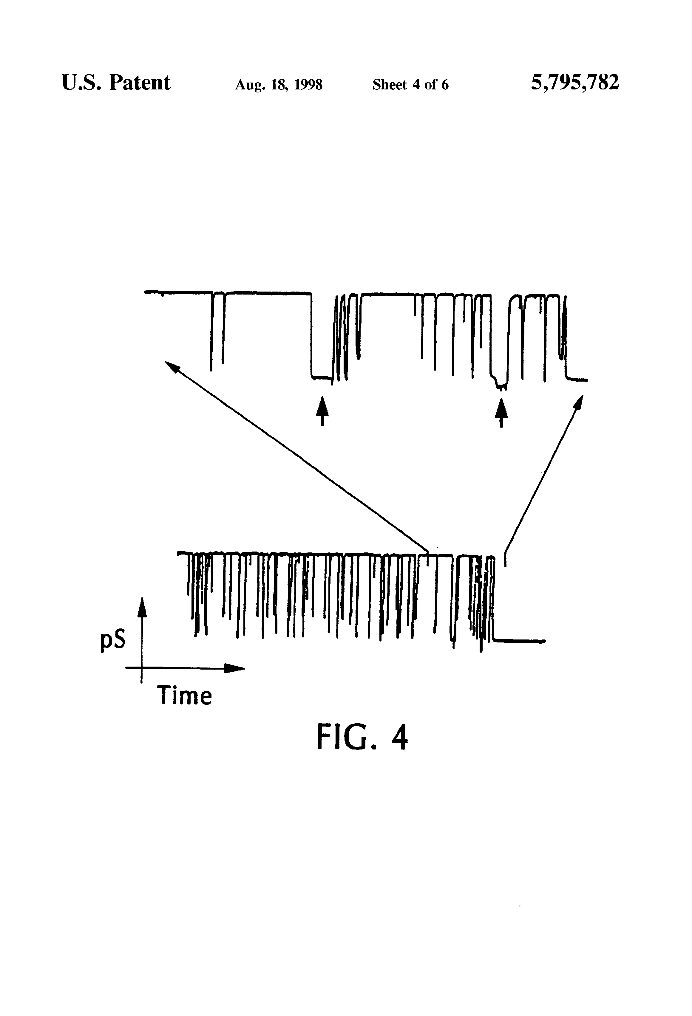 US5795782A - Characterization of individual polymer