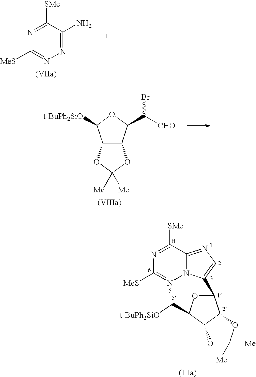 us7368437b1 bicyclic heterocycles processes for their preparation Wire B&W CM9 figure us07368437 20080506 c00031