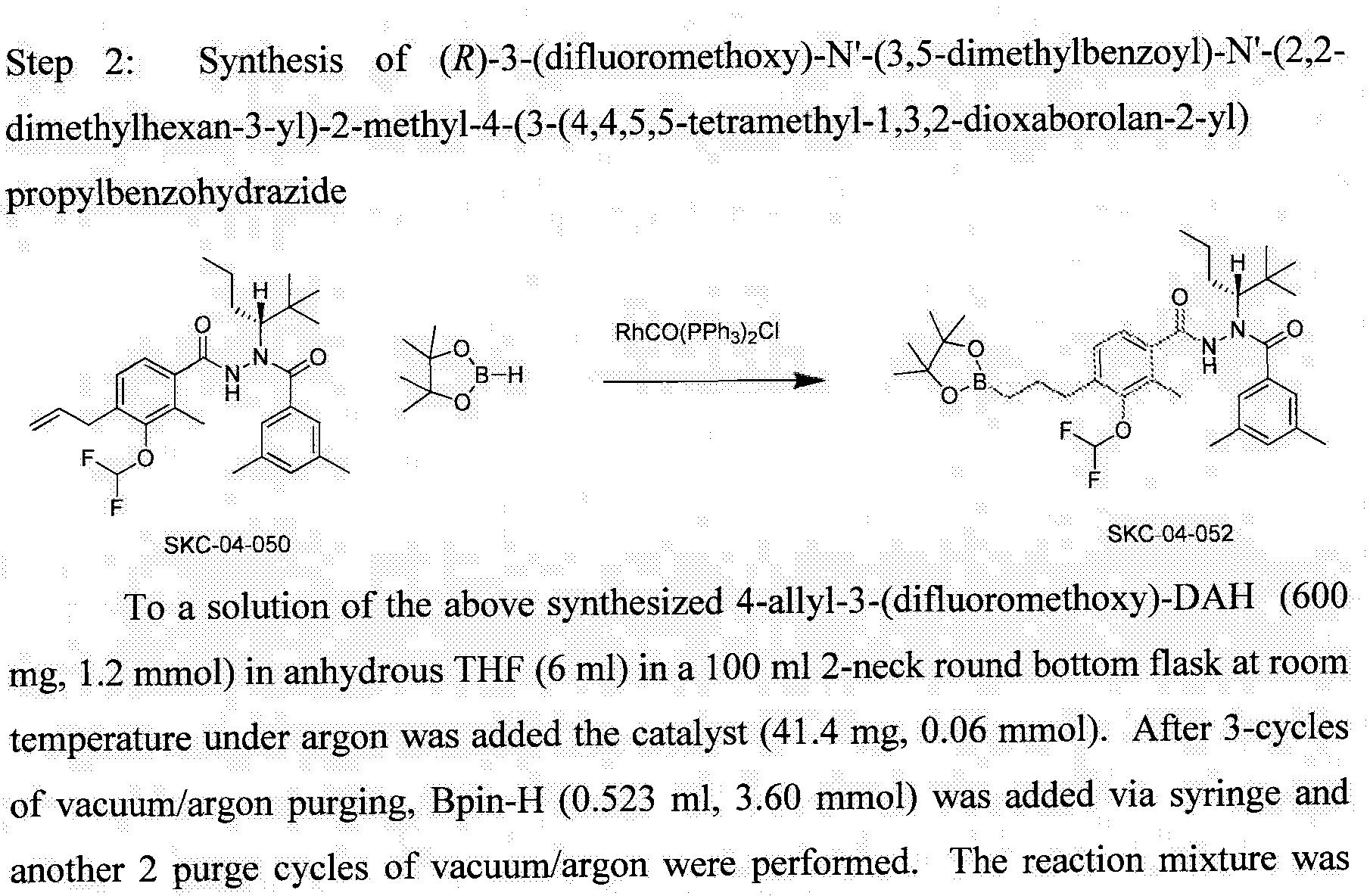 Wo2014144380a1 Boron Containing Diacylhydrazines Google Patents Vacuum Flash Ox 500 Figure Imgf000136 0001