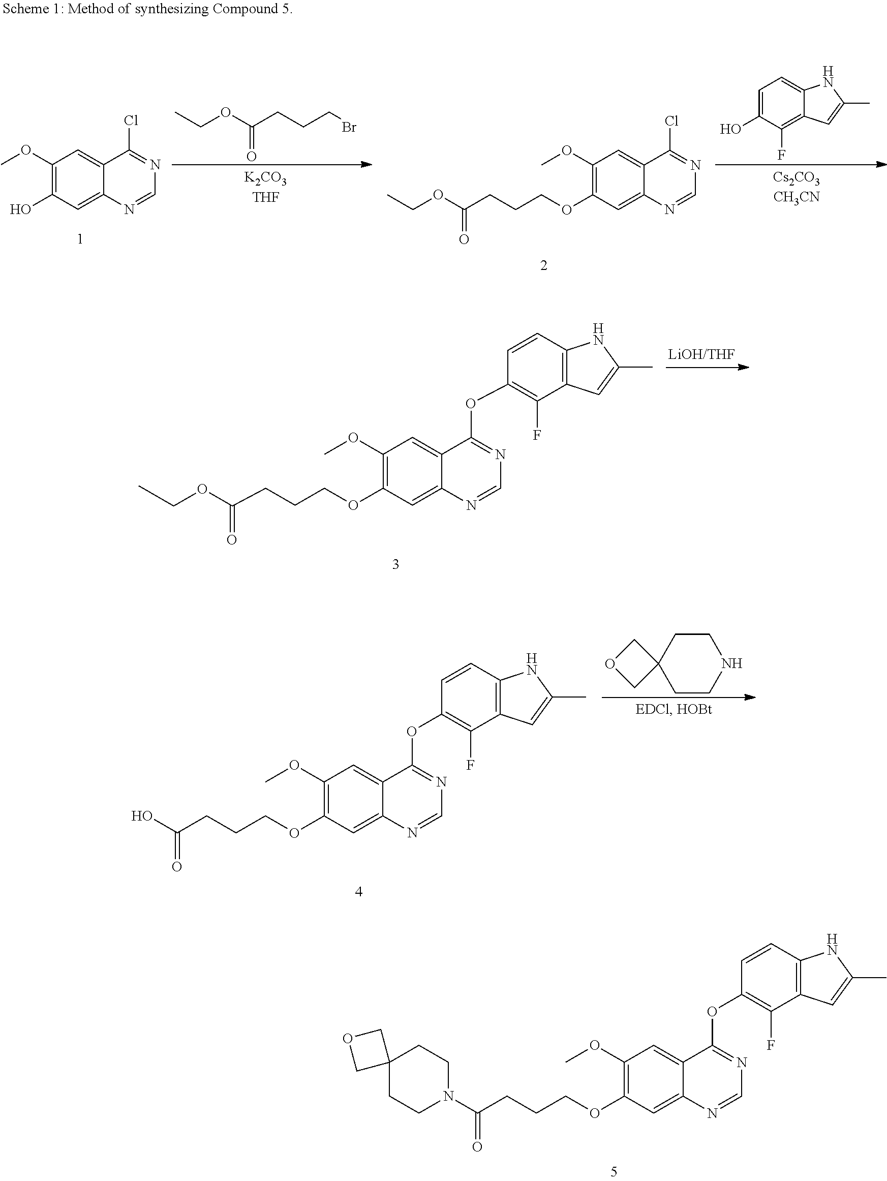 US9688688B2 - Crystalline forms of 4-((4-((4-fluoro-2-methyl