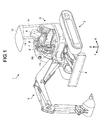 US20160265196A1 - Display device of working vehicle, display