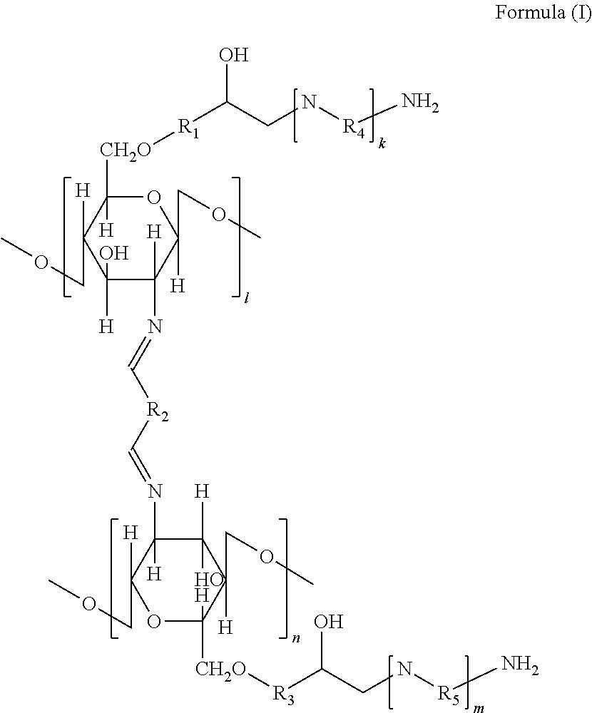 US20140309410A1 - Amine grafted chitosan nanofiber, method