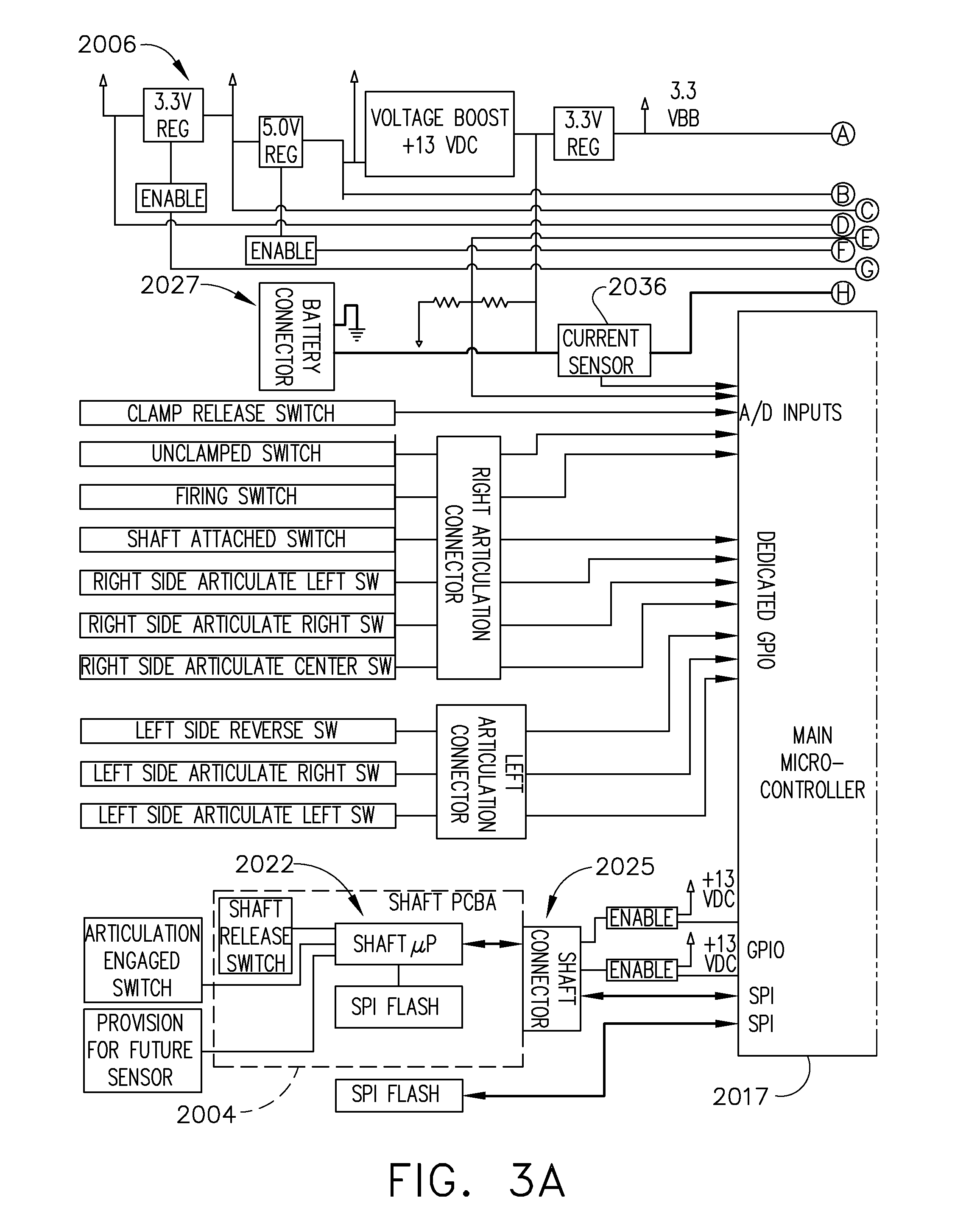 Detector Circuit Vibration Impulse Counter Water Switch Sensor Us9733663b2 Power Management Through Segmented And Variable Voltage Protection Google Patents
