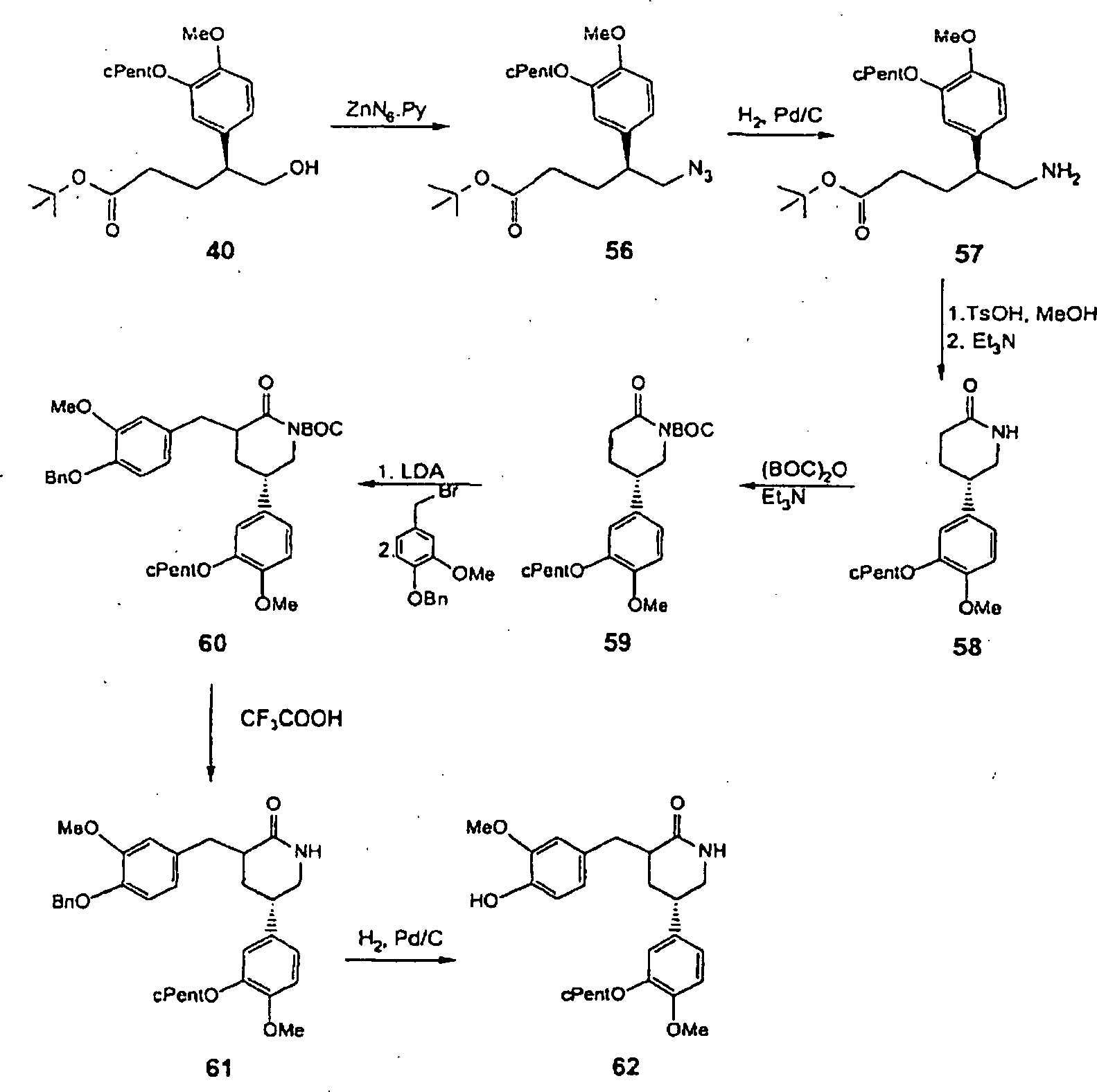 DE69919179T2 Substituted phenyl gamma delta lactone and