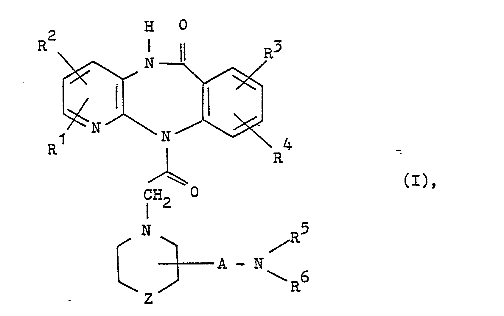Ep0254955a2 Substituierte Pyrido 23 B14benzodiazepin