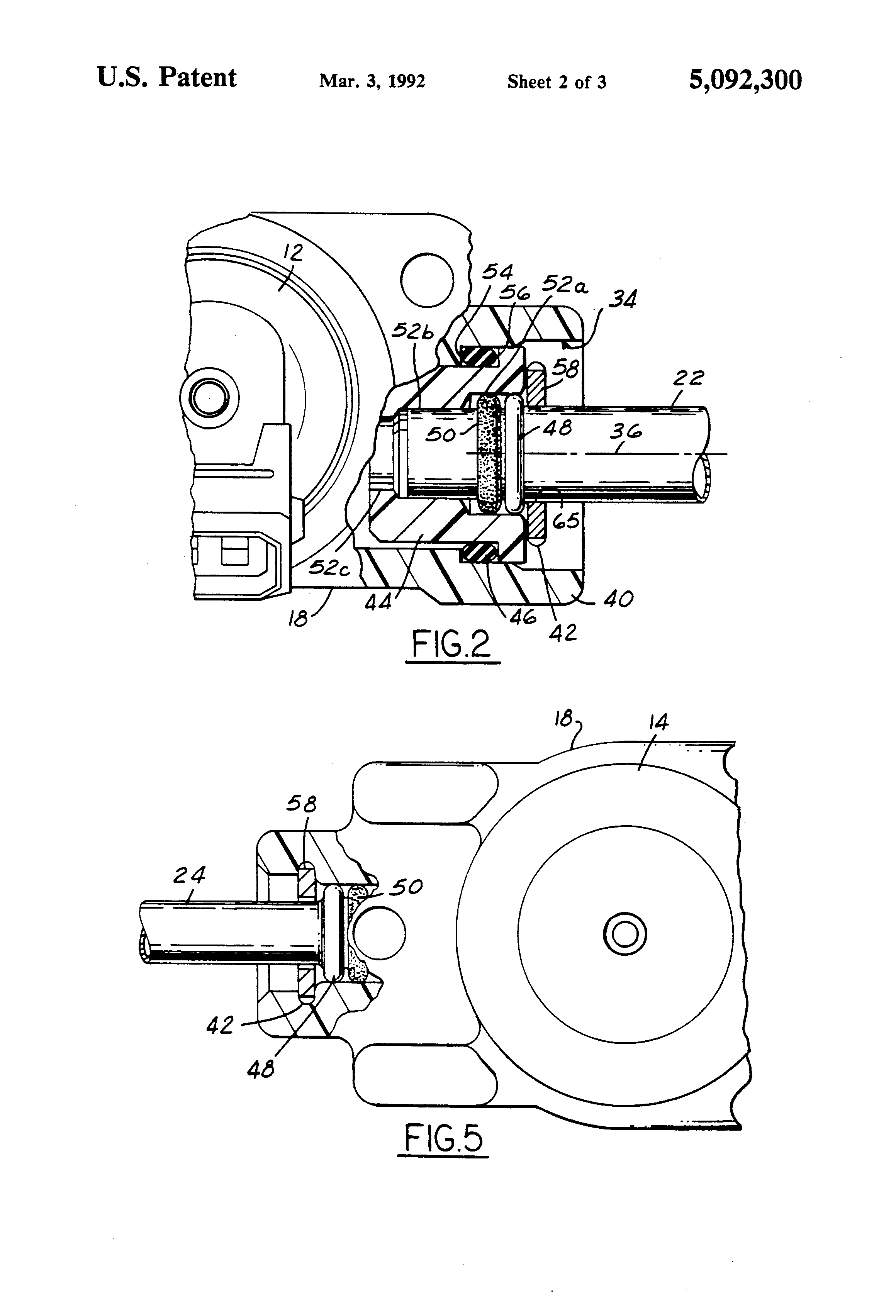 US5092300A - Plastic fuel rail end joint - Google Patents