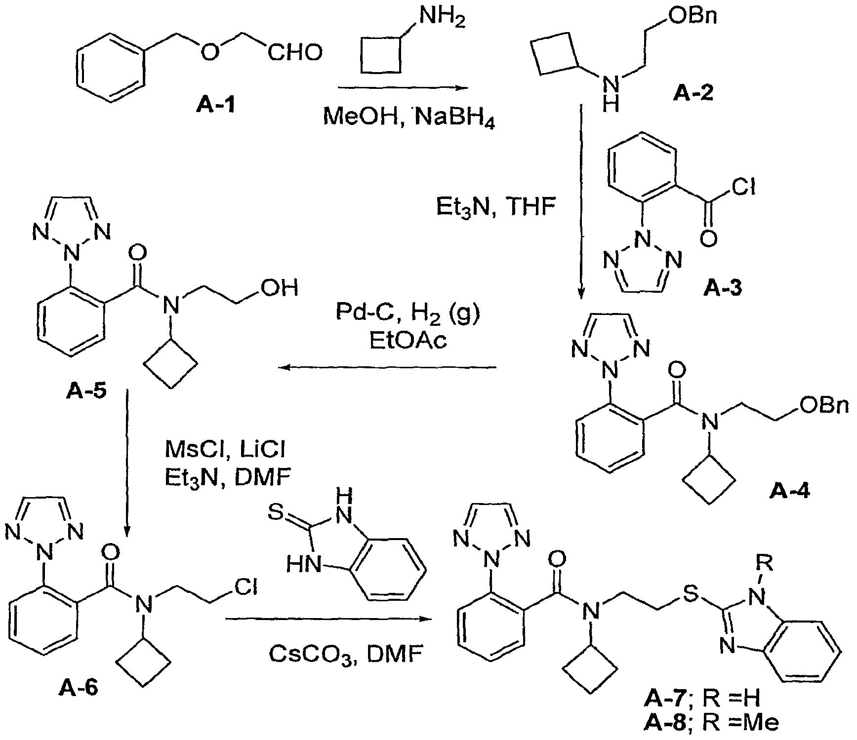 WO2007126934A2 - Amidoethylthioether orexin receptor