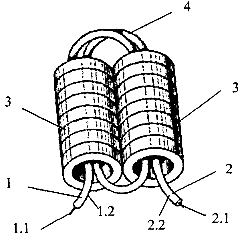 RU120507U1 - Broadband balun - Google Patents