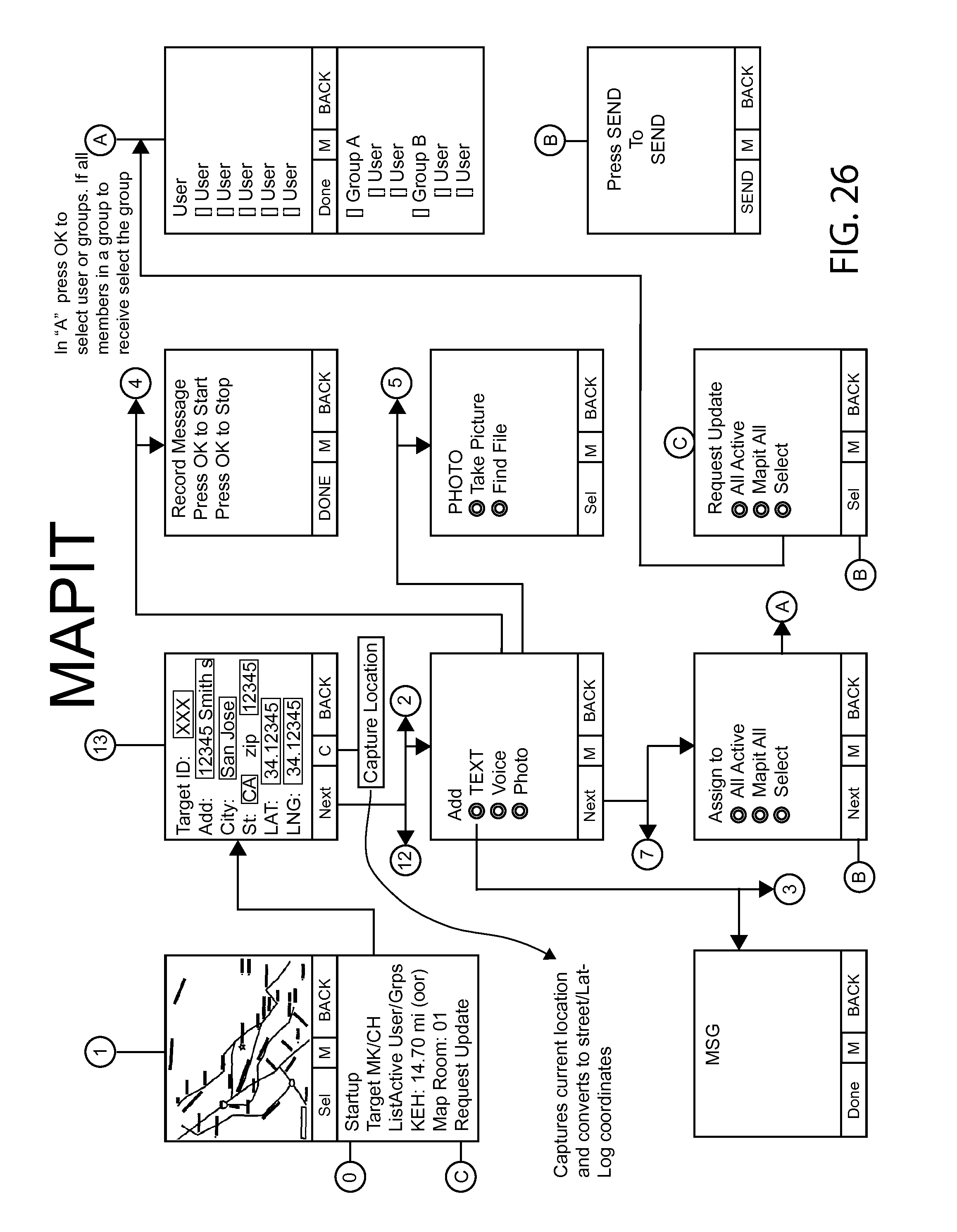 Us8750898b2 Methods And Systems For Annotating Target Locations Besides Mini Split System Wiring Diagram Also Chamberlain Garage Door Google Patents