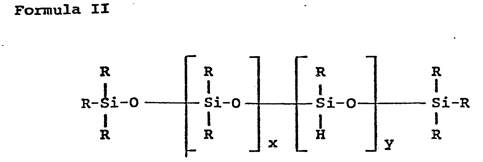 EP0158140A2 - Olefin polymer compositions containing silicone