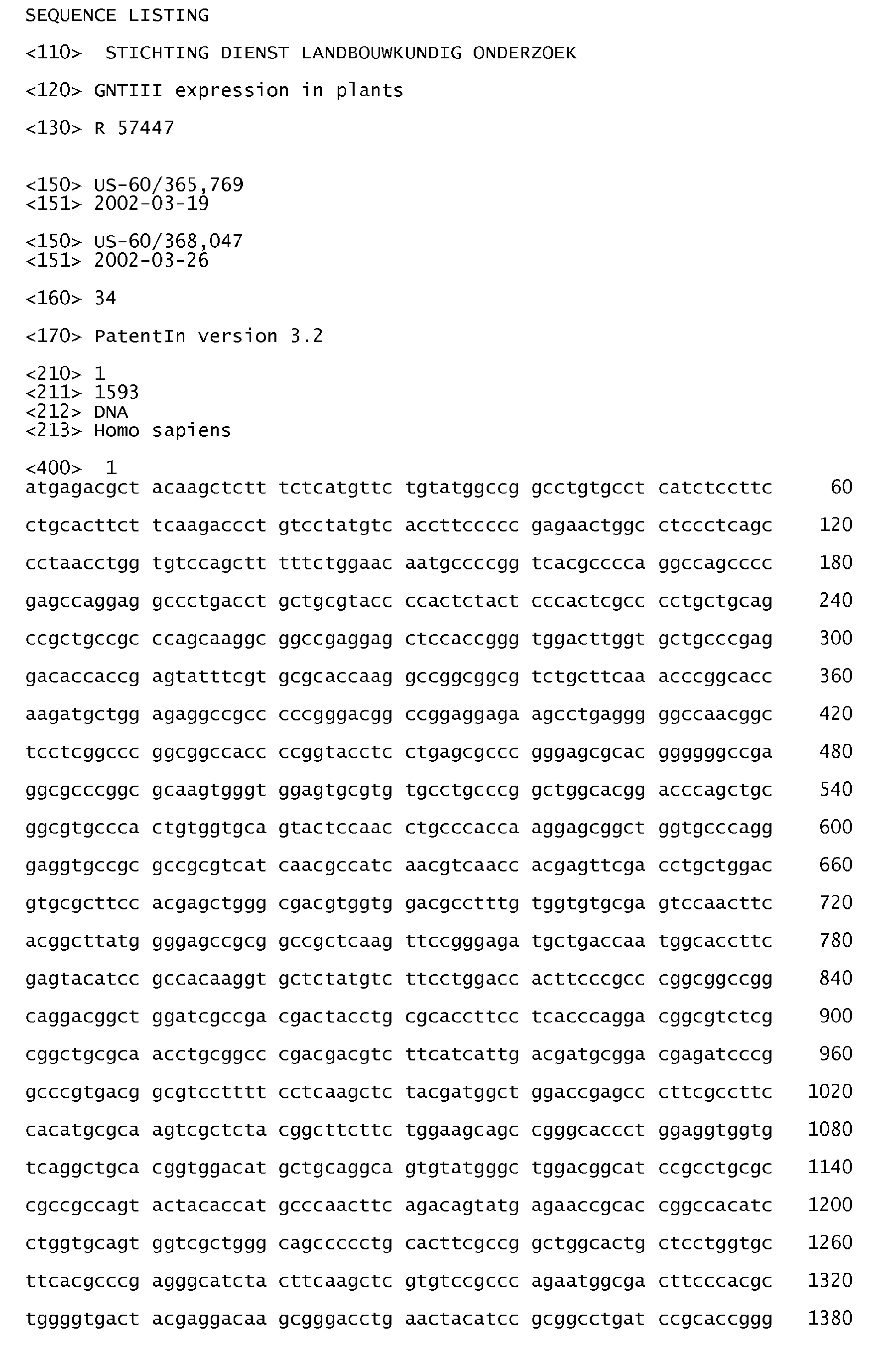 EP2319935A2 - GnTIII (UDP-N-acetylglucosamine:Beta -D