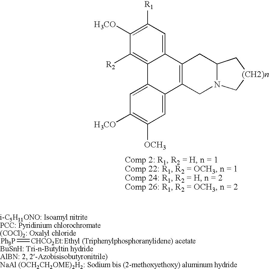 Us20100216773a1 Phenanthroindolizidine Analogues Google Patents