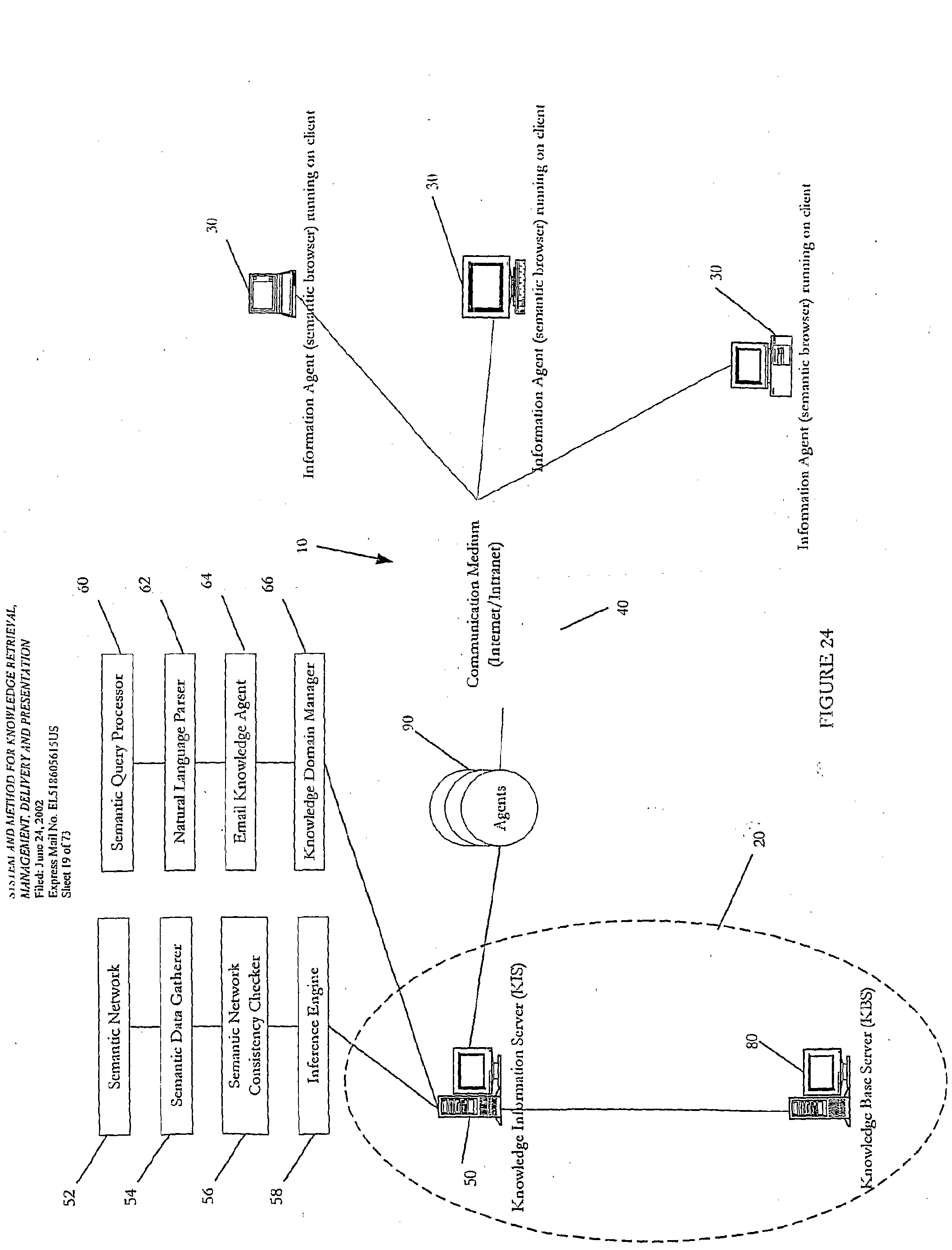 WO2004075466A2 - Semantic knowledge retrieval management and