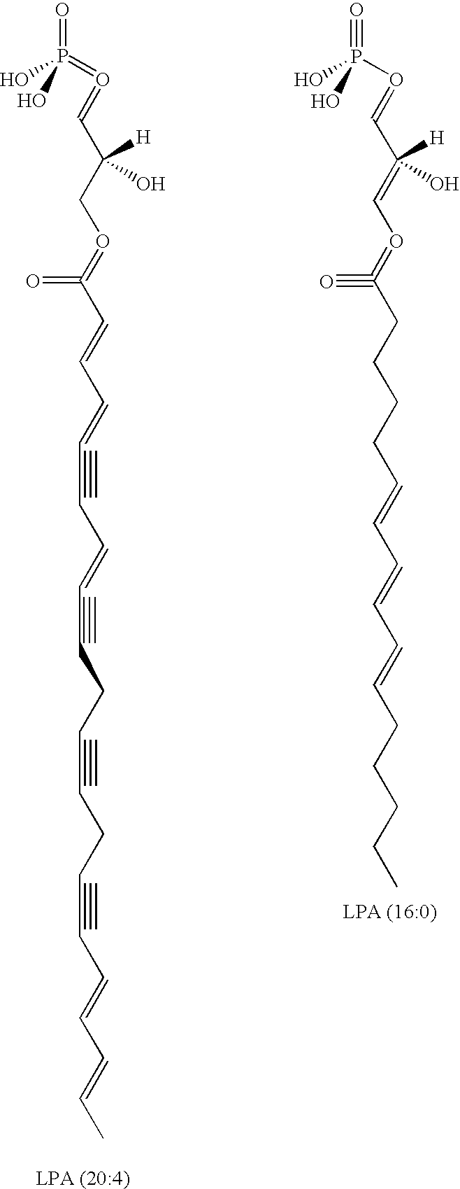 US8158124B2 - Compositions and methods for binding lysophosphatidic