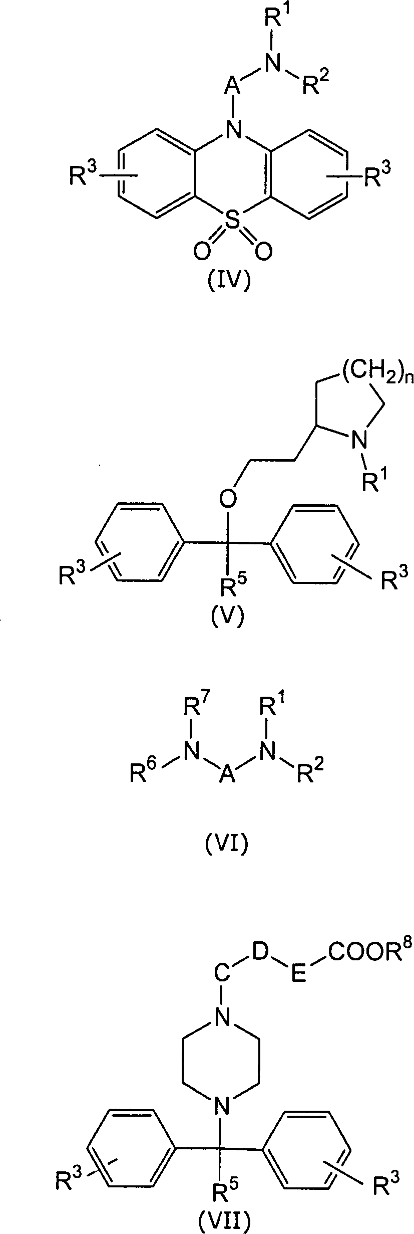 DE10339157A1 - Use of histamine antagonists against itching