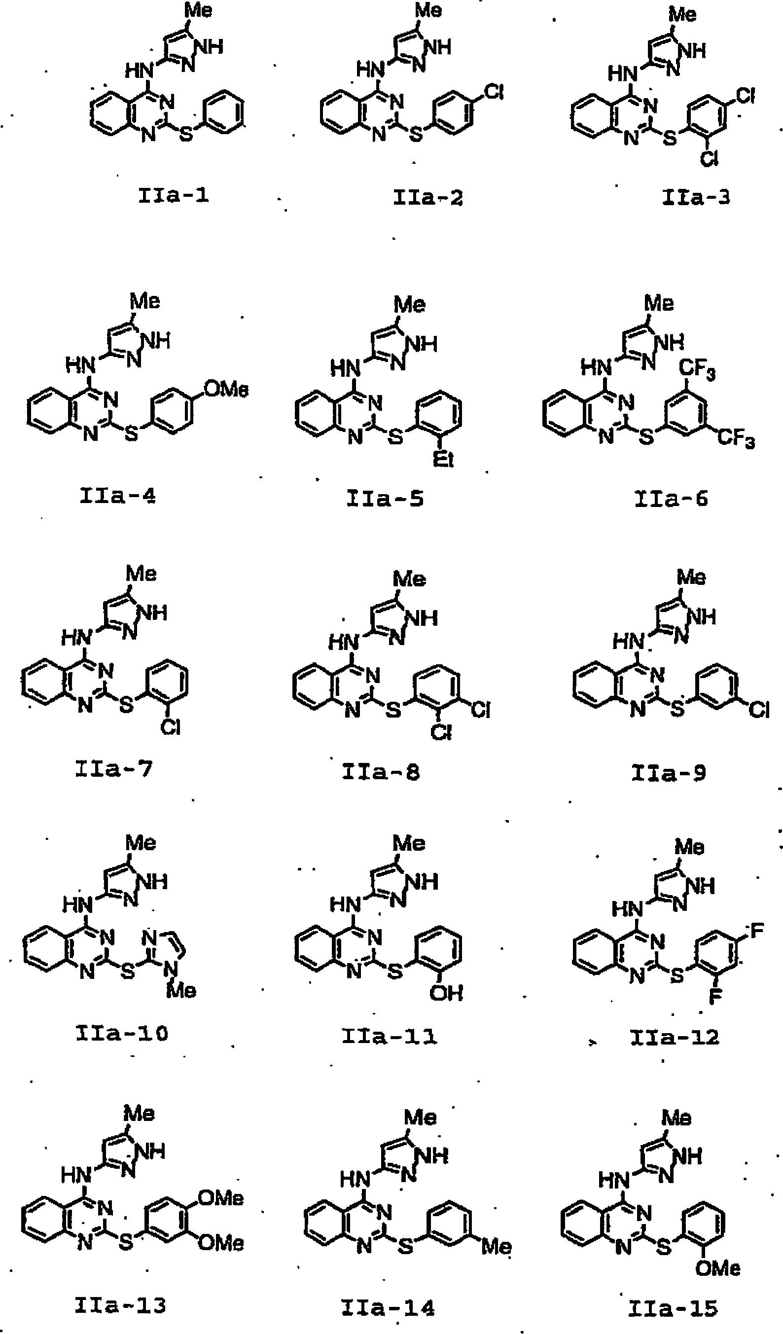 DE60119775T2 - Pyrazole compounds as protein kinase