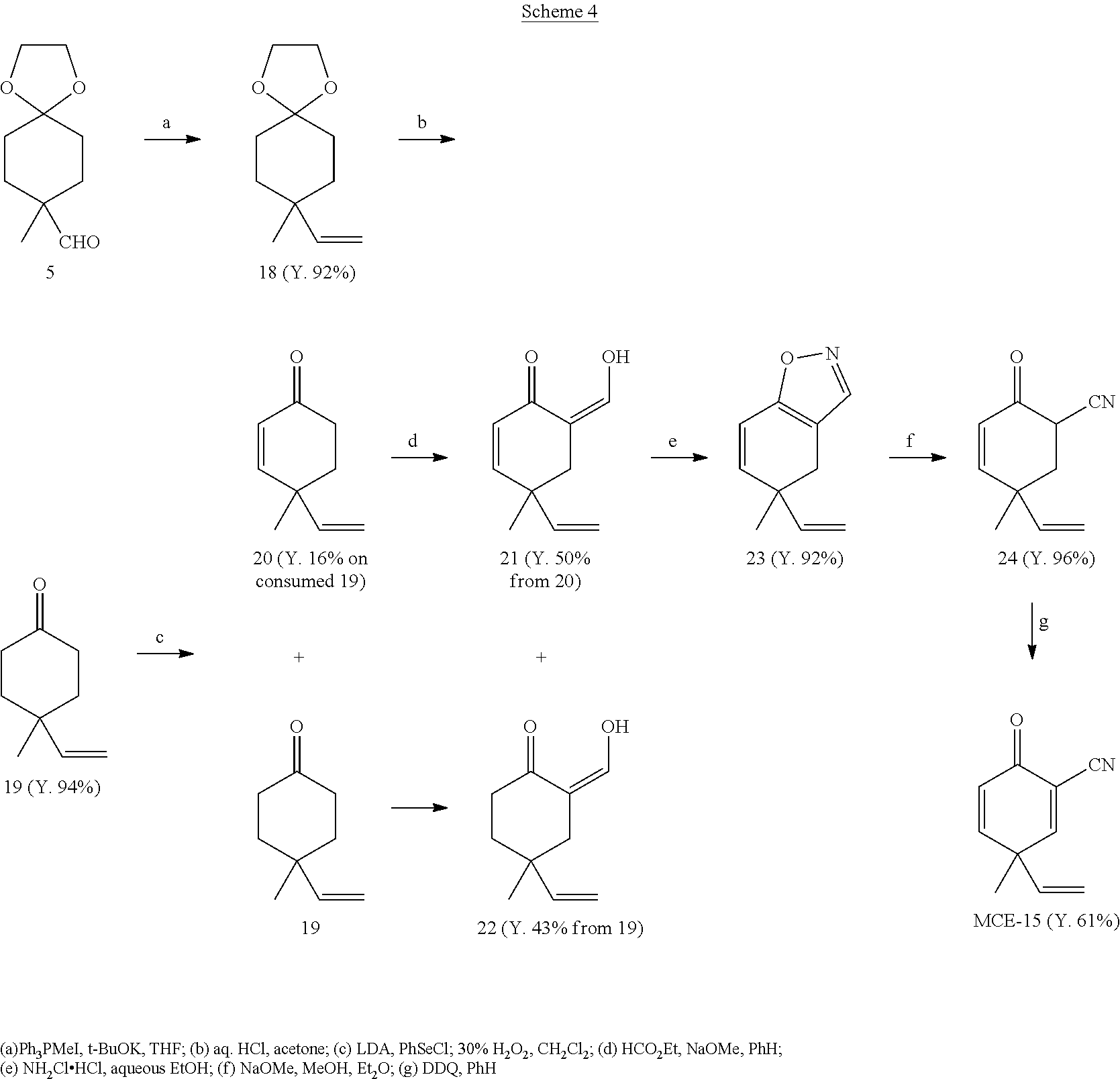 US20130274480A1 - Monocyclic cyanoenones and methods of use thereof