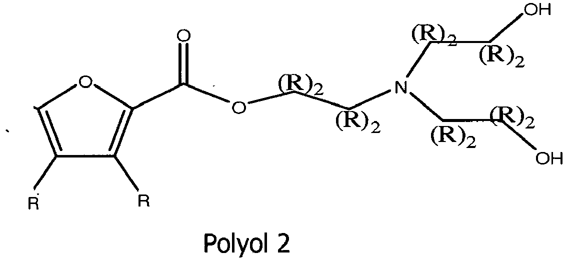 EP2593444B1 - Biobased polyols for potential use as flame retardants