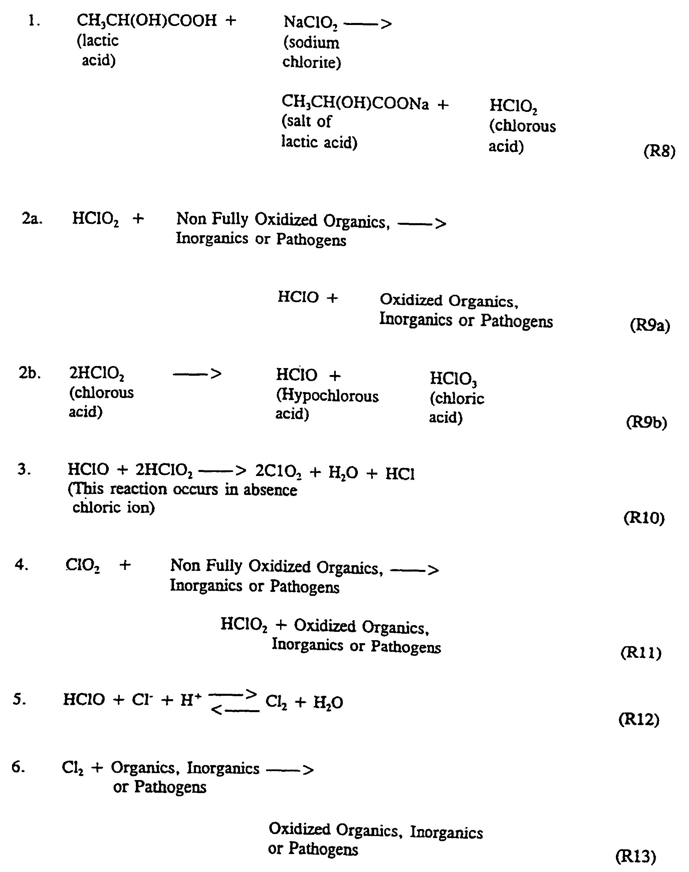 Ep0881985b1 Method And Apparatus For Making Aqueous Chlorine