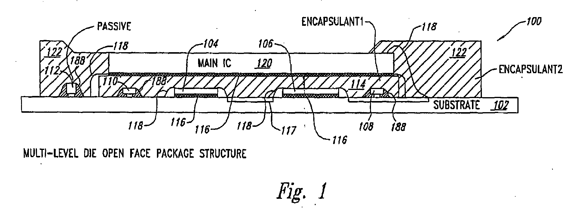 ep1418622a1 - encapsulation of multiple integrated circuits