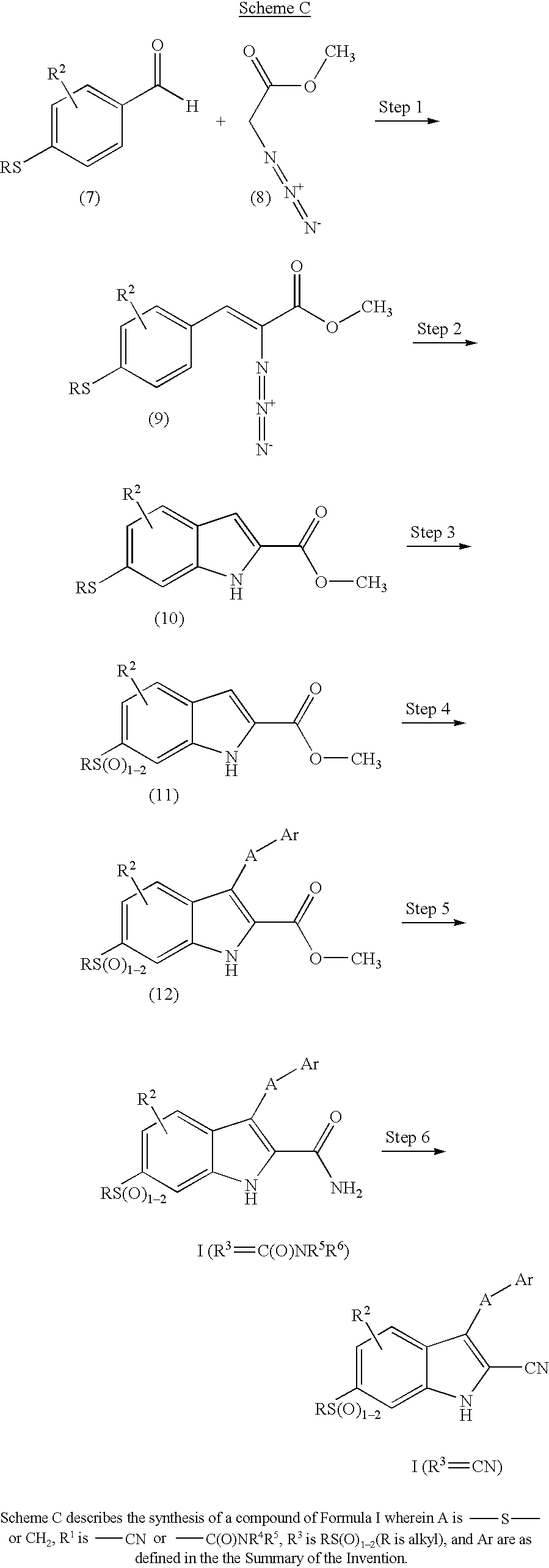 US20030130337A1 - Indole derivatives as anti-inflammatory