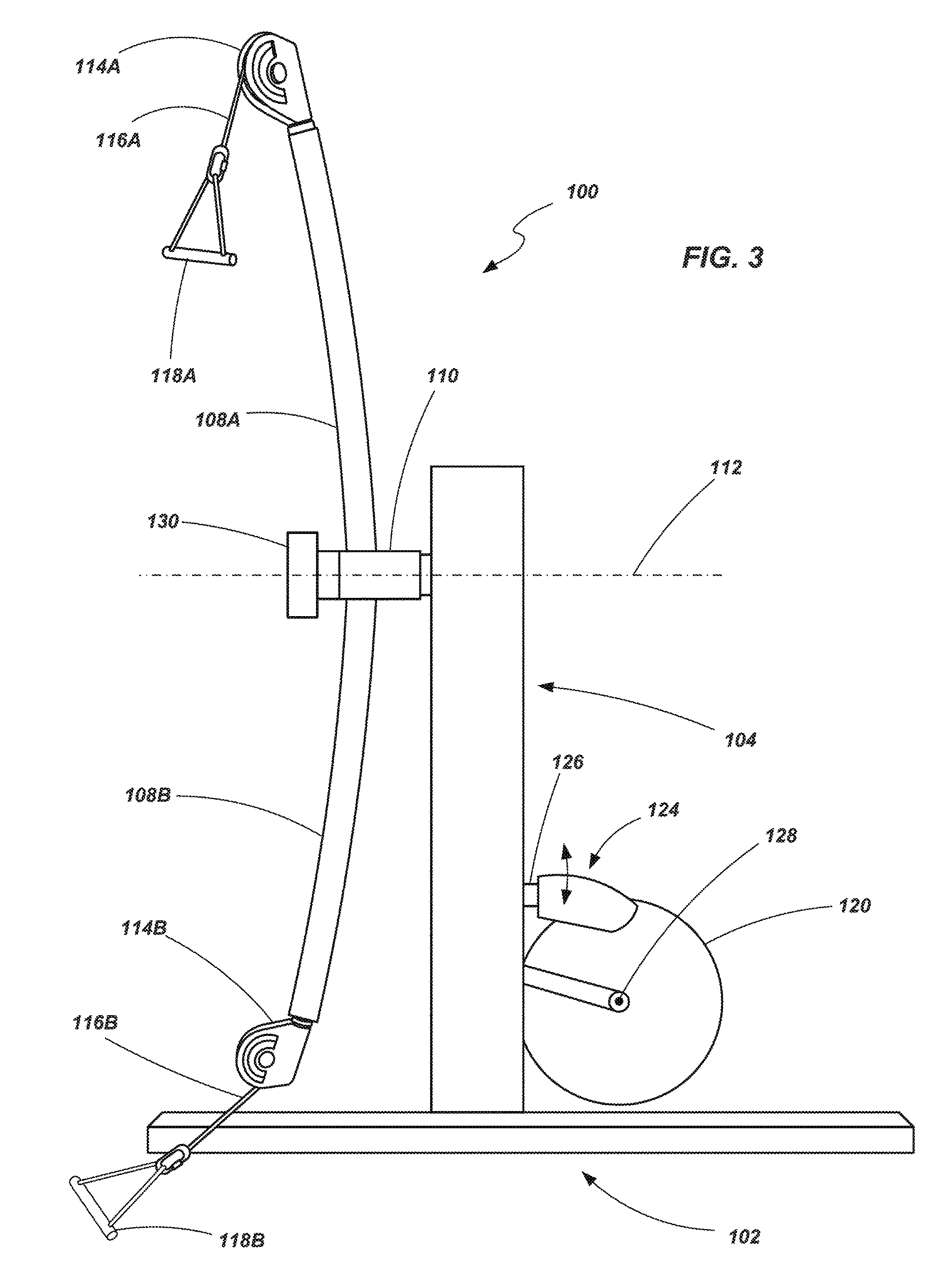 Us9616276b2 Strength Training Apparatus With Flywheel And Related Methods Google Patents