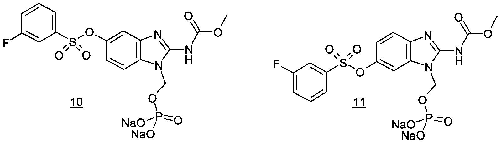 WO2007014846A1 - Novel benzimidazole (thio) carbamates with