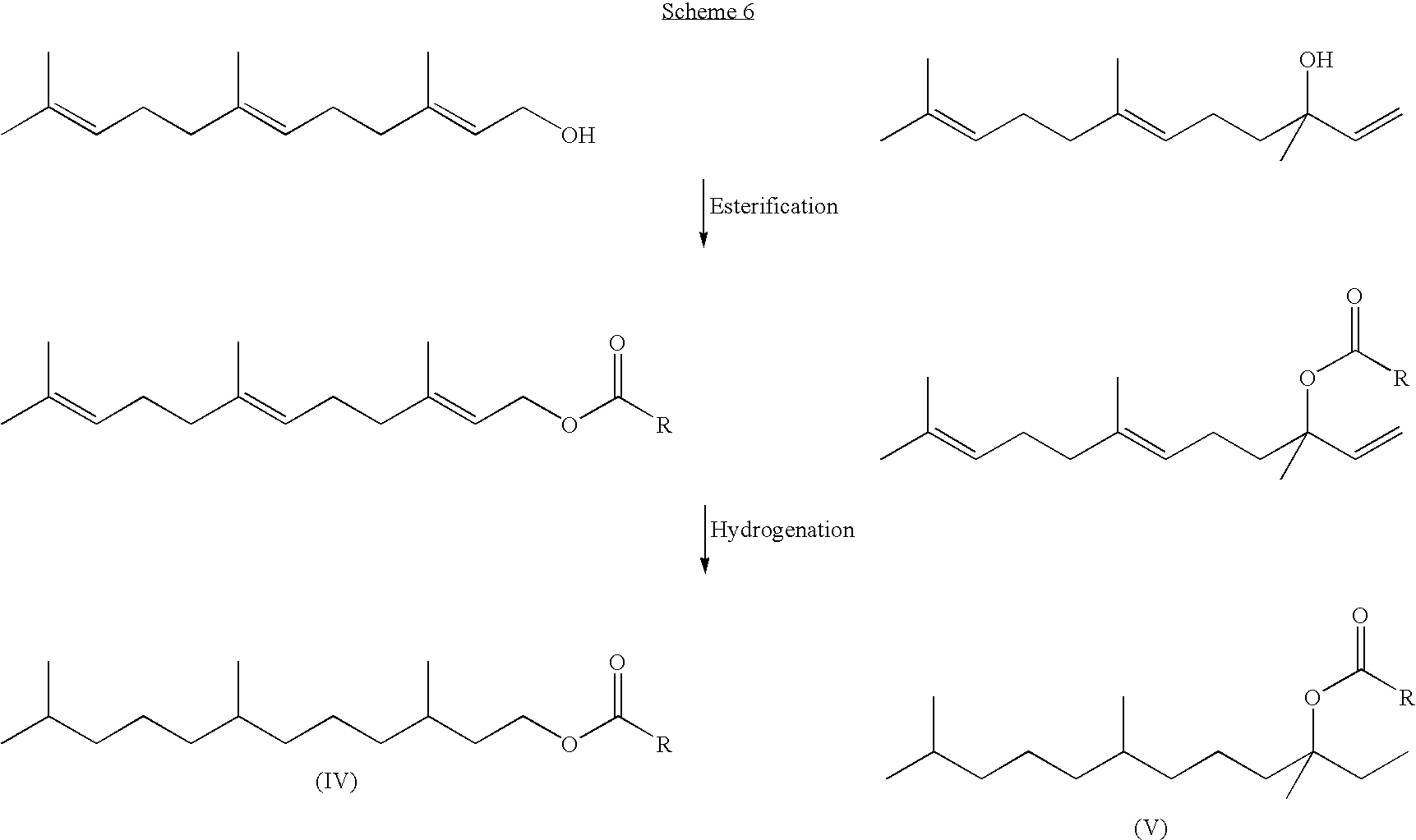 US7846222B2 - Fuel compositions comprising farnesane and