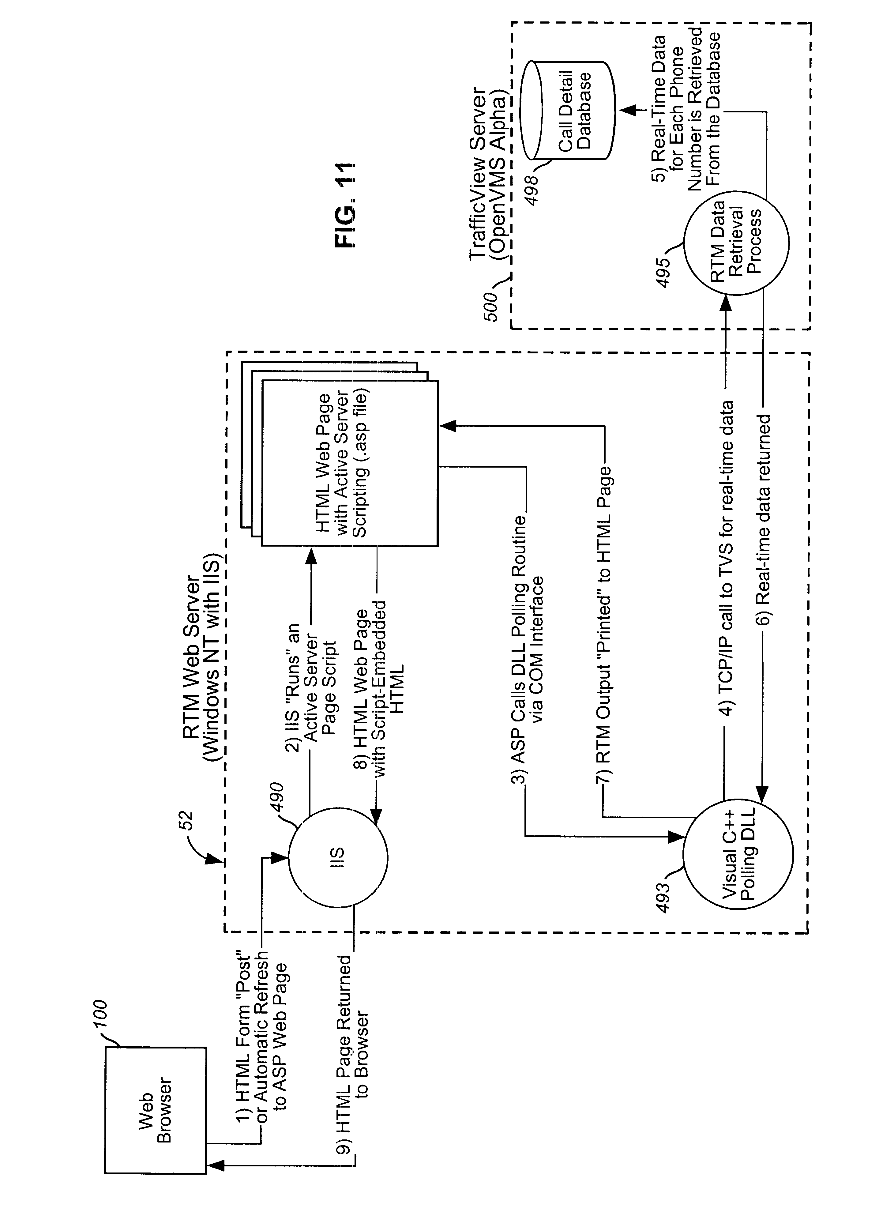 Us6470386b1 Integrated Proxy Interface For Web Based 555 Timer Helpers Schematic Telecommunications Management Tools Google Patents
