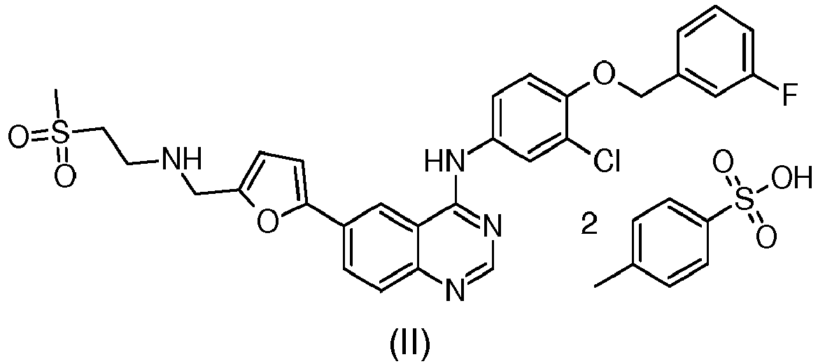 EP3266773A1 - Process for the preparation of lapatinib