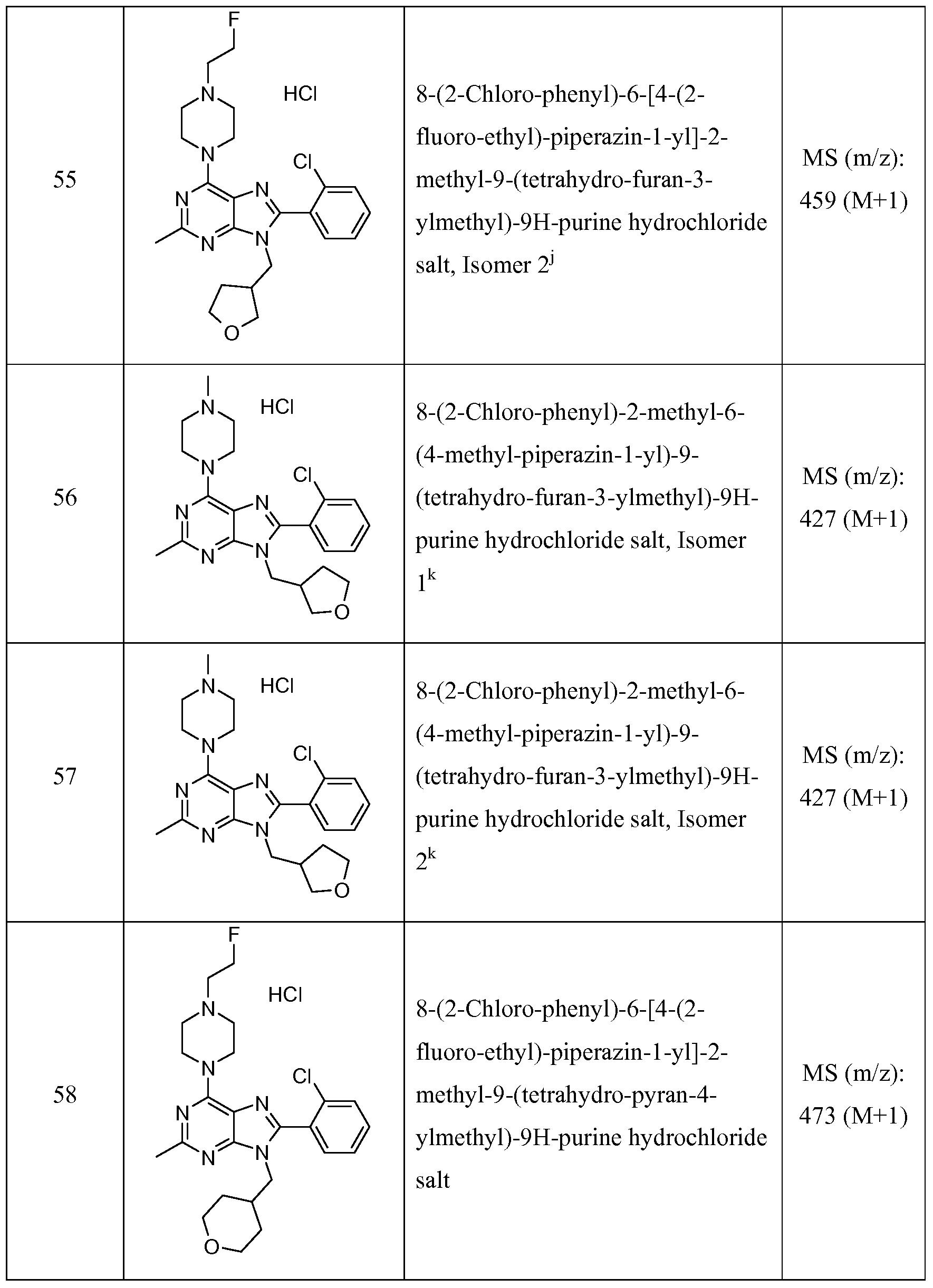 WO2010080306A1 - Purine compounds - Google Patents