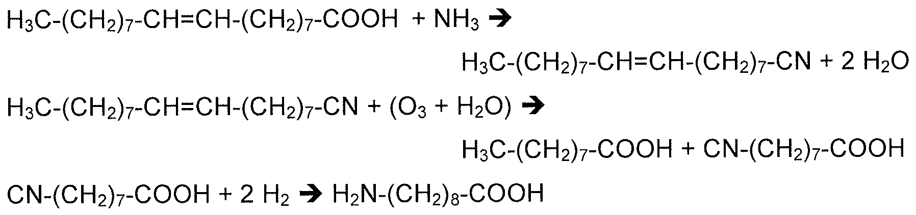 H 3 C CH 2 7 COOH The Synthesis Results In Pelargonic As A By Product