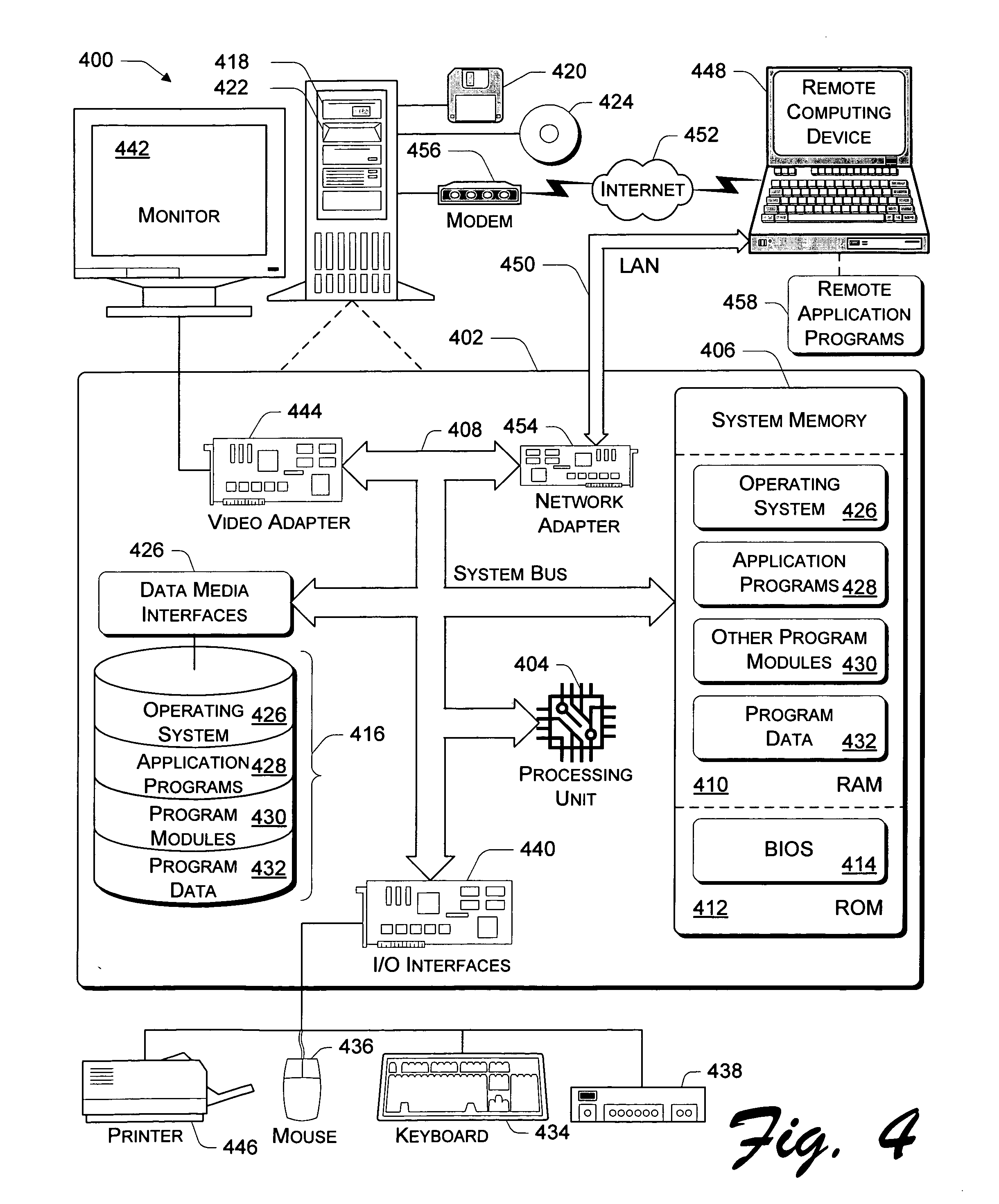 US20050246716A1 - Application program interface for network