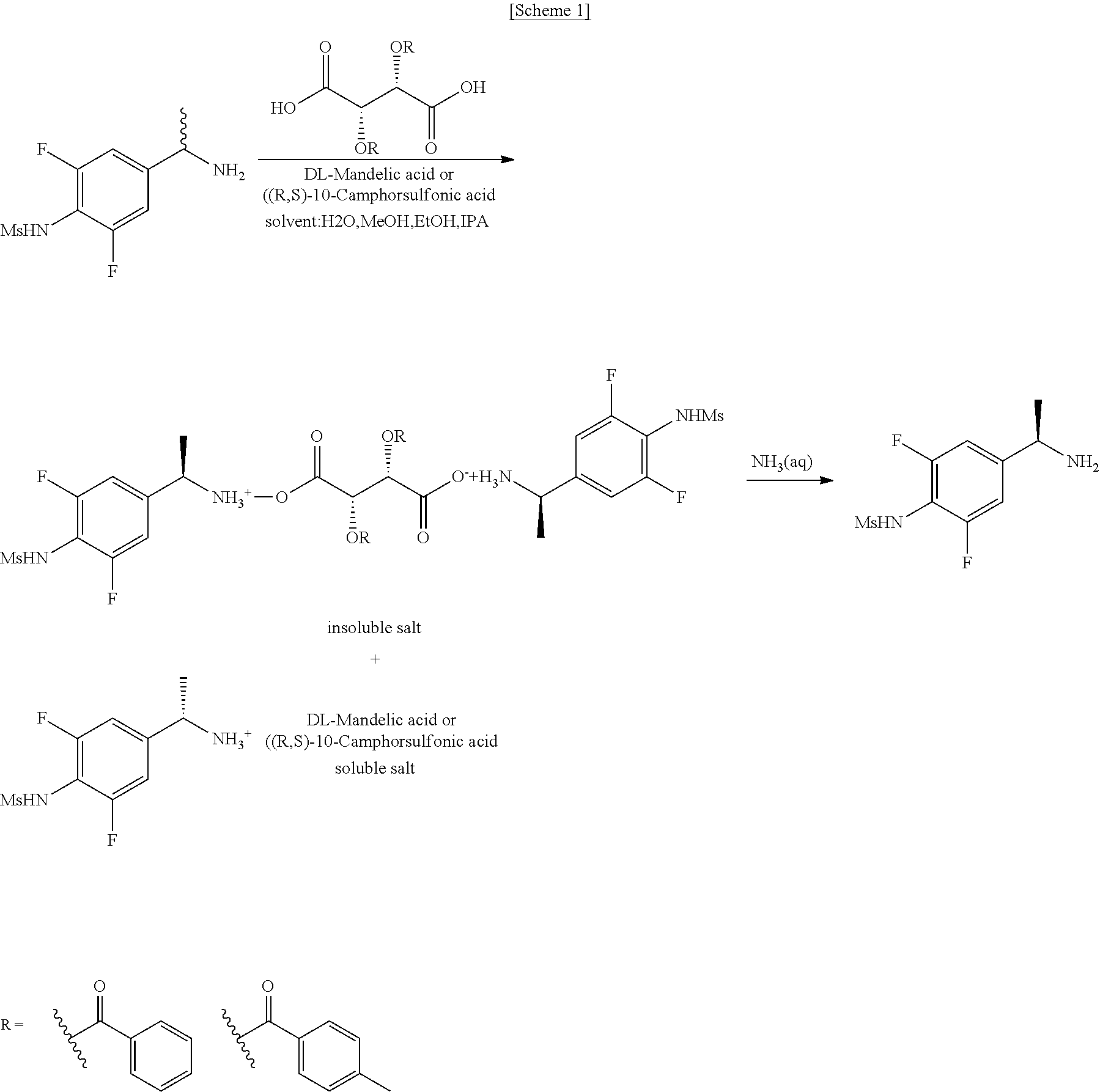 US20170342027A1 - Chiral resolution method of n-[4-(1-aminoethyl