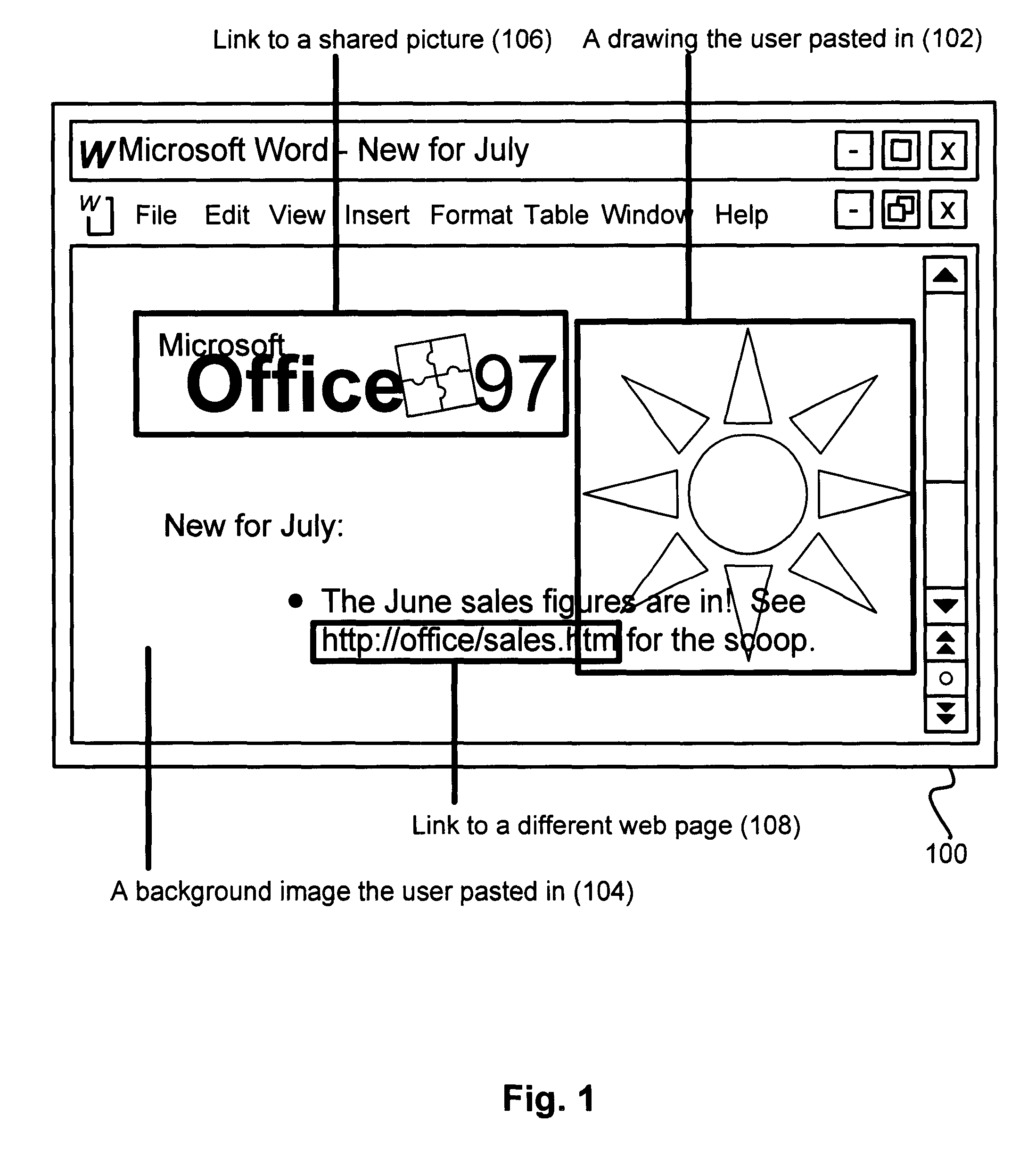 US6585777B1 - Method for managing embedded files for a document