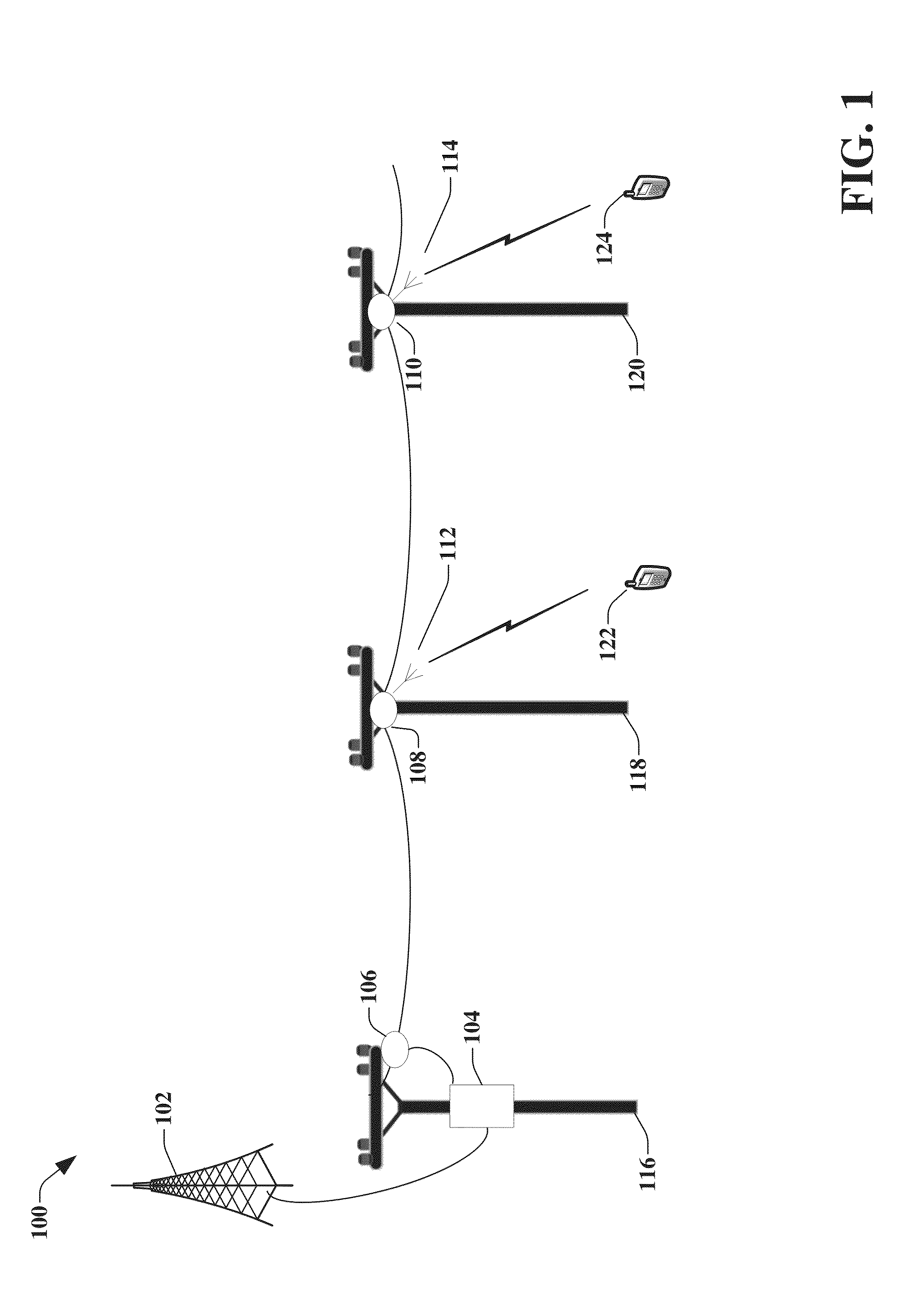 US20160197642A1 - Transmission device with mode division