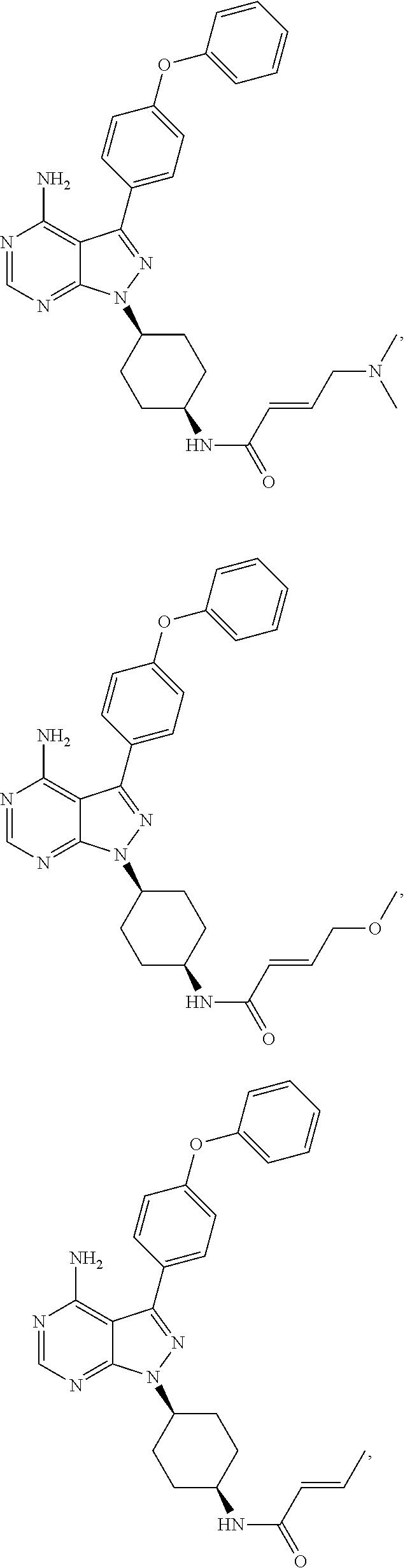 Us20120183535a1 Use Of Inhibitors Brutons Tyrosine Kinase Btk Inhale Style Mosquito Killer Lamp Electric Circuit Figure 20120719 C00032