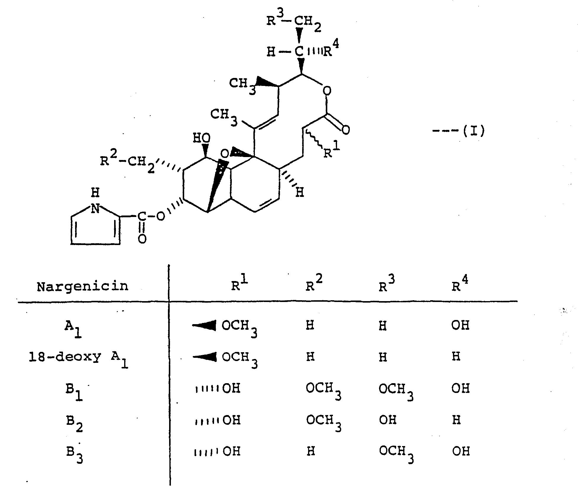 EP0109750A2 - Nargenicin C1 - Google Patents